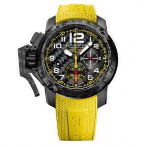 Graham Chronofighter Superlight Carbon Yellow Watch