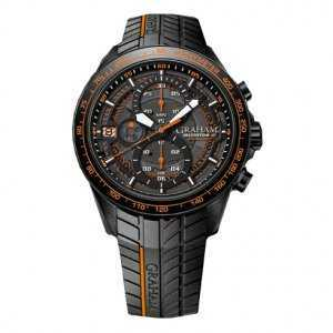 Graham Silverstone RS Endurance Orange Chronograph Watch