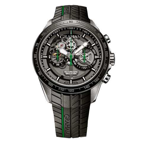 Graham Silverstone RS Skeleton Green Limited Edition Watch