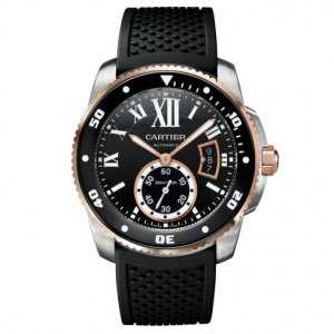 Cartier Calibre de Cartier Black Dial Automatic Watch