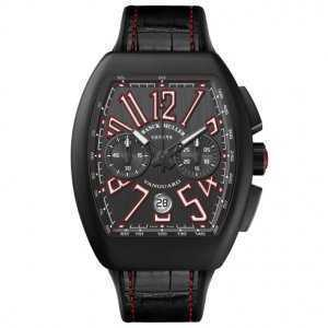 Franck Muller Vanguard Chronograph Black PVD Titanium Watch