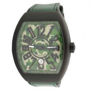 Franck Muller Vanguard Camouflage PVD Titanium V45 Watch