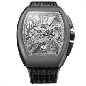 Franck Muller Vanguard Chronograph Camouflage V45 Watch