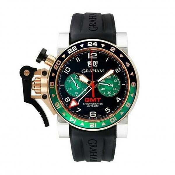 Graham GMT Oversize Chronofighter Big Date Watch