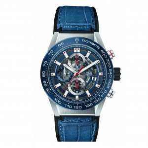 TAG Heuer Automatic Carrera Calibre Heuer 01 Blue Watch