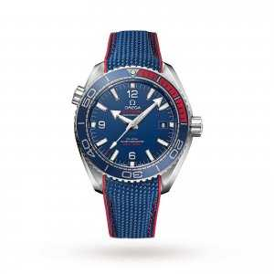 "Omega Seamaster Planet Ocean ""Pyeongchang 2018"" Limited Edition Watch"