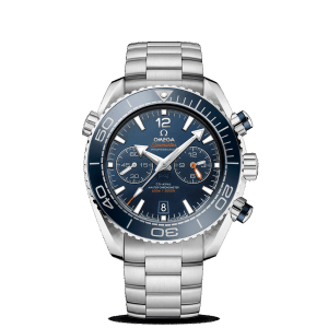 Omega Seamaster Planet Ocean 600M Co-Axial Master Chronometer Chronograph Blue Watch