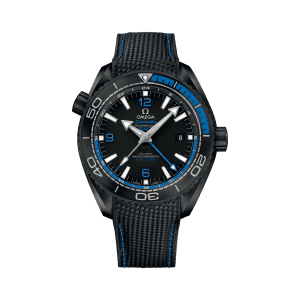 Omega Seamaster Planet Ocean 600M Co-Axial Master Chronometer GMT Deep Black Watch