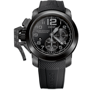 Graham Chronofighter Steel All Black Watch