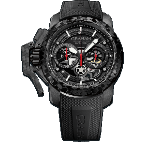 Graham Chronofighter Superlight Carbon Skeleton Black Watch