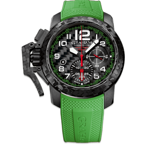 Graham Chronofighter Superlight Carbon Green Watch