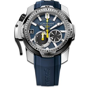 Graham Chronofighter Prodive Blue Watch