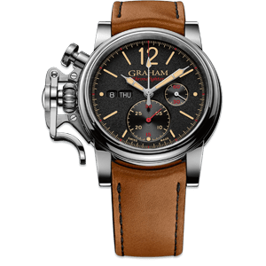 Graham Chronofighter Vintage Black Dial Watch