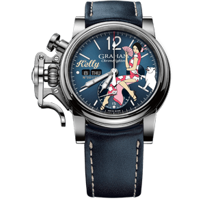 Graham Chronofighter Vintage Nose Art Kelly Limited Edition Watch