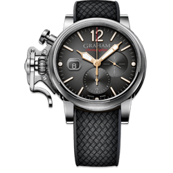 Graham Chronofighter Grand Vintage Black Dial Watch