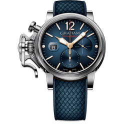 Graham Chronofighter Grand Vintage Blue Dial Watch
