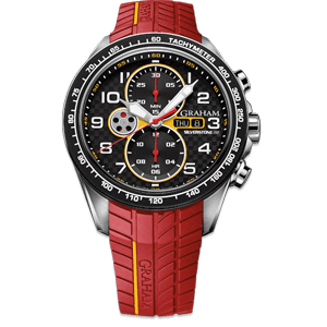 Graham Silverstone RS Racing Red Watch