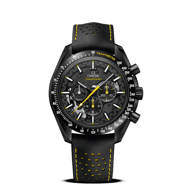 Omega Speedmaster Moonwatch Chronograph Dark Side of the Moon Apollo 8 Watch