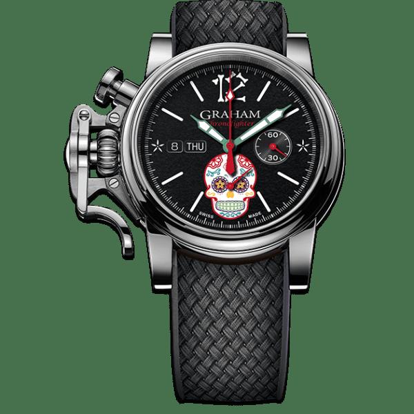 Graham Chronofighter Vintage Ltd Dia de los Muertos Limited Edition Watch