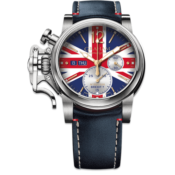 Graham Chronofighter Vintage UK Ltd Brexit? Limited Edition Watch