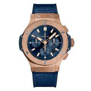 Hublot Big Bang Gold Blue Watch