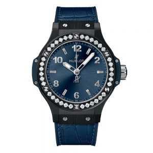 Hublot Big Bang Ceramic Blue Diamonds Watch