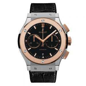 Hublot Classic Fusion Chronograph Titanium King Gold Watch