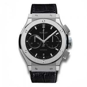 Hublot Classic Fusion Chronograph Titanium Watch