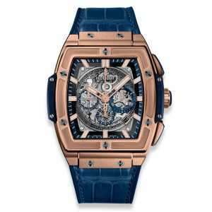 Hublot Spirit of Big Bang King Gold Blue Watch