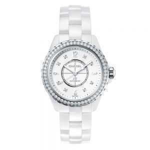 Chanel J12 White Diamonds Watch