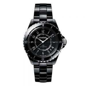Chanel J12 Black Ceramic Watch