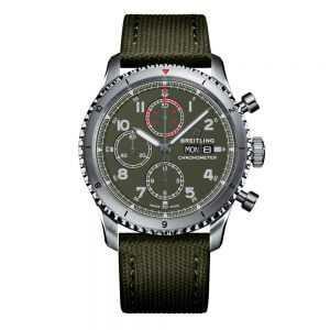 Breitling Aviator 8 Chronograph 43 Curtiss Warhawk Watch