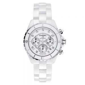 Chanel J12 Chronograph White Watch