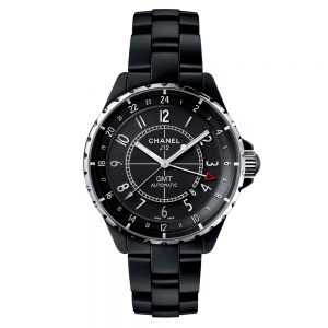 Chanel J12 GMT Matte Black Watch