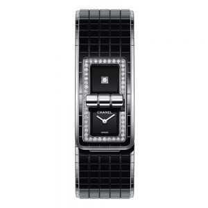 Chanel Code Coco Black Watch