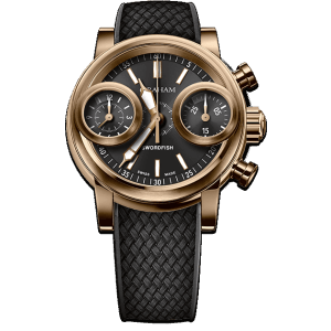 Graham Swordfish Bronze Black Dial Watch