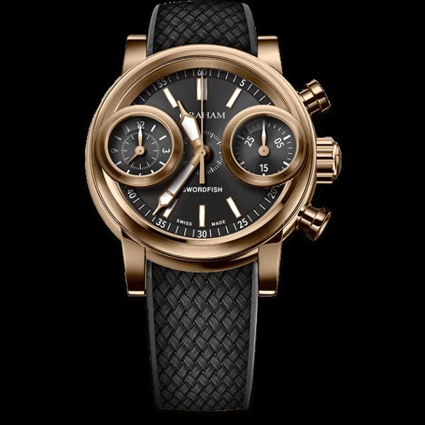 Graham Swordfish Bronze Black Dial Watch