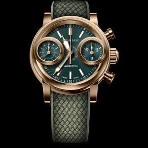 Graham Swordfish Bronze Green Dial Watch