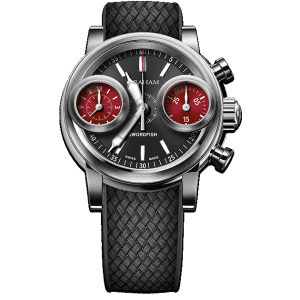 Graham Swordfish Steel Black Dial Watch