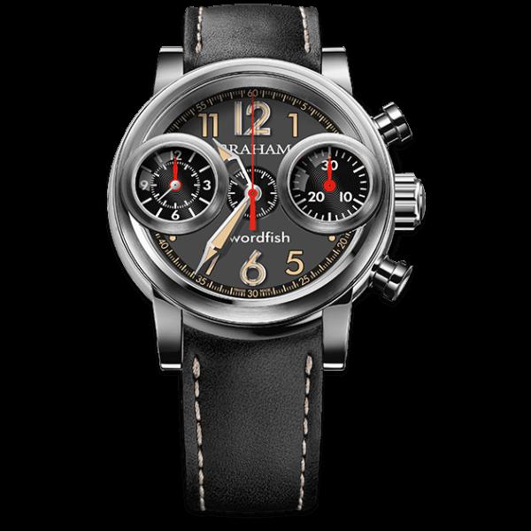 Graham Swordfish Steel Green Dial Watch
