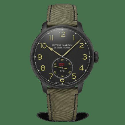 Ulysse Nardin Marine Torpilleur Military Black 44mm Watch