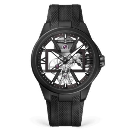 Ulysse Nardin Executive Skeleton X Black 42mm Watch