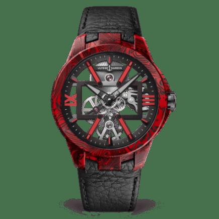 Ulysse Nardin Executive Skeleton X Magma 43mm Watch
