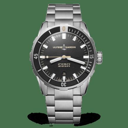 Ulysse Nardin Diver Black 42mm Watch