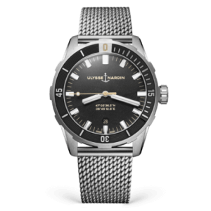 Ulysse Nardin Diver Black 42mm Watch