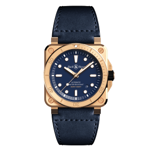 Bell & Ross BR 03-92 Diver Bronze Navy Blue Watch