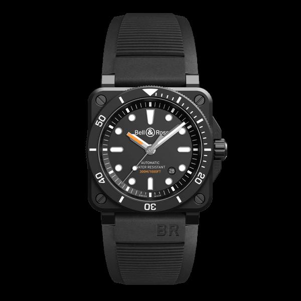 Bell & Ross BR 03-92 Diver Black Matte Watch
