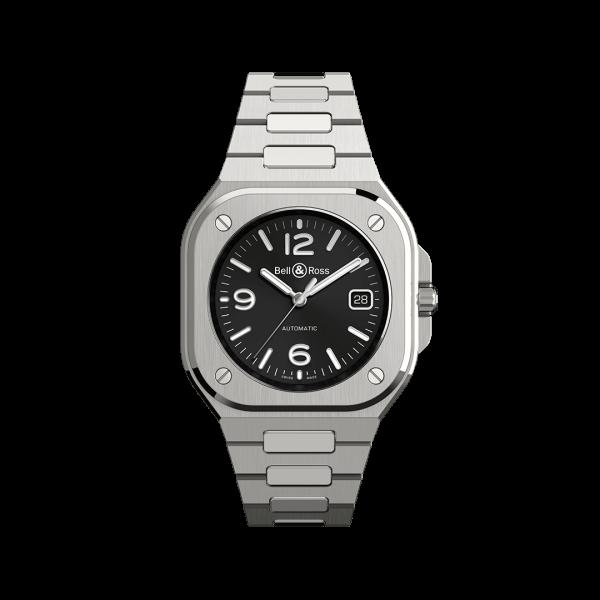 Bell & Ross BR 05 Black Steel Watch