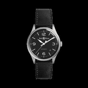 Bell & Ross BR V1-92 Black Steel Watch