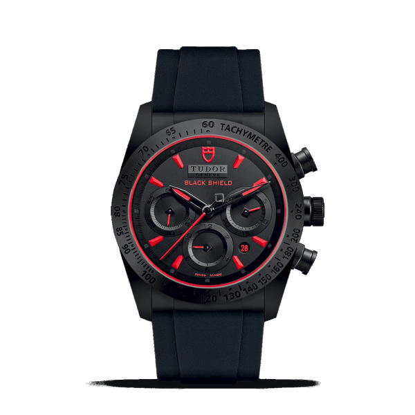 Tudor Fastrider Black Shield Red Watch